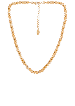 8 Other Reasons Brittany Necklace in Metallic Gold.