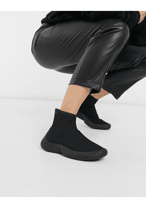 Camper abs knitted sock trainers-Black