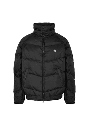 Billionaire Boys Club Black Quilted Ripstop Shell Jacket