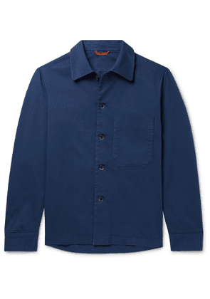 Barena - Cotton-Blend Twill Overshirt - Men - Blue