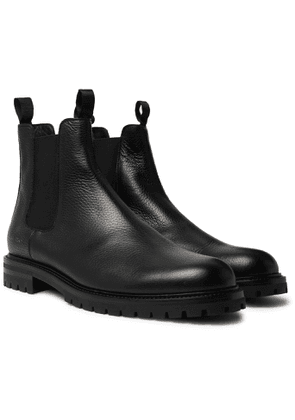 Common Projects - Full-Grain Leather Chelsea Boots - Men - Black
