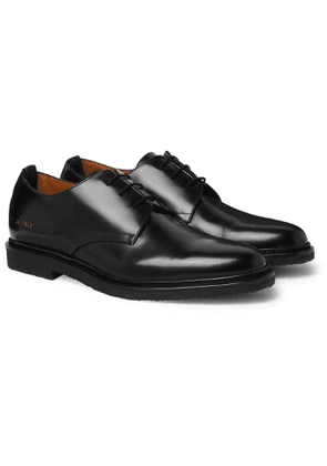 Common Projects - Leather Derby Shoes - Men - Black