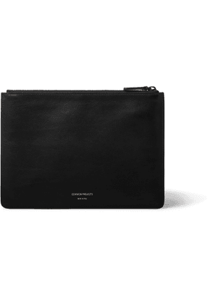 Common Projects - Leather Pouch - Men - Black