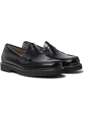 G.H. Bass & Co. - Weejuns 90s Larson Polished-Leather Penny Loafers - Men - Black