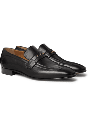 Gucci - Horsebit Leather Loafers - Men - Black