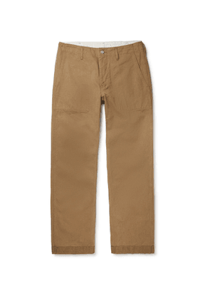 visvim - Trade Wind Cotton and Linen-Blend Trousers - Men - Brown
