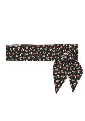 x Liberty floral wool scarf