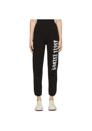 Ashley Williams Black Angel Energy Lounge Pants