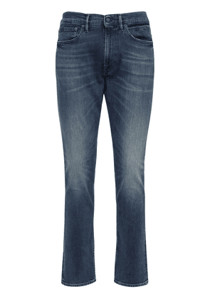 Slim Stretch Cotton Denim Jeans