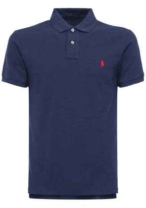 Classic Slim Fit Cotton Piqué Polo