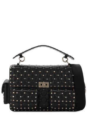 Rockstuds Multi Pocket Leather Spike Bag
