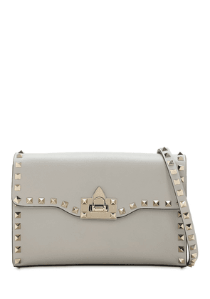 Small Rockstud Smooth Leather Bag