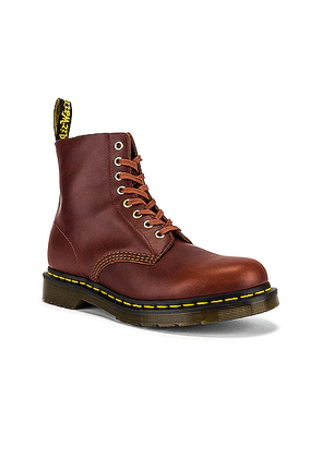 Dr. Martens 1460 Pascal Boots in Brown - Brown. Size 8 (also in 9).