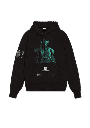 Undercover Hoodie in Black - Black. Size 5 (also in ).