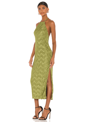 House of Harlow 1960 x REVOLVE Frederick Dress in Olive. Size M,S,XL,XS.