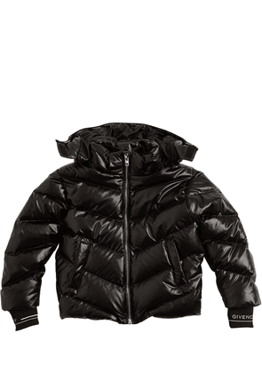Nylon Down Jacket W/ Hood