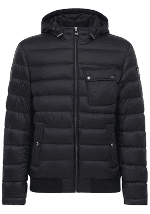 Streamline Nylon Down Jacket