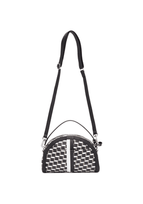 Pierre Hardy Black and White Cube Moon Messenger Bag