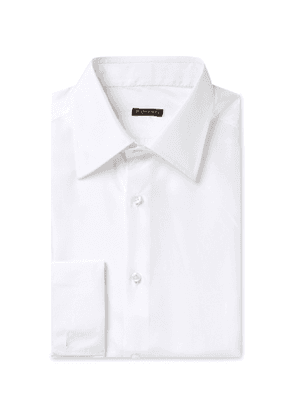 Rubinacci - Double-Cuff Silk Shirt - Men - White