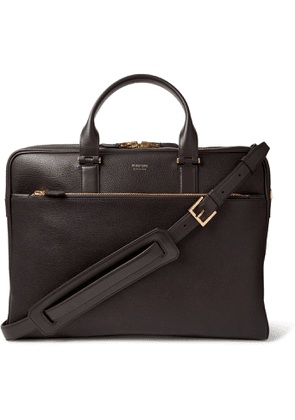 TOM FORD - Full-Grain Leather Briefcase - Men - Brown