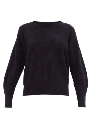 Allude - Ribbed Cashmere Sweater - Womens - Navy