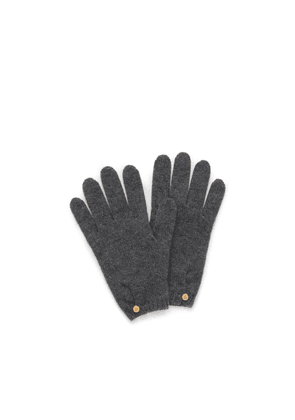 Mulberry Cashmere Gloves - Grey - Size ONE