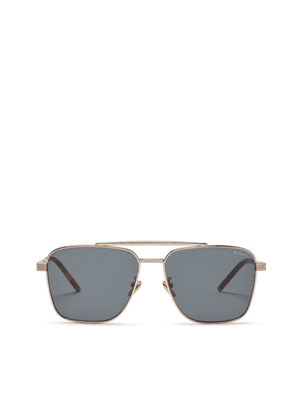 Mulberry Clifton Sunglasses - Gold-Green