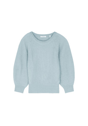 Equipment Kristine Light Blue Alpaca-blend Jumper