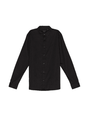 ALLSAINTS Redondo Shirt in Black. Size M.