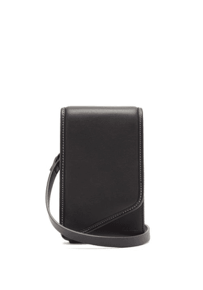 Paul Smith - Leather Crossbody Phone Pouch - Mens - Black