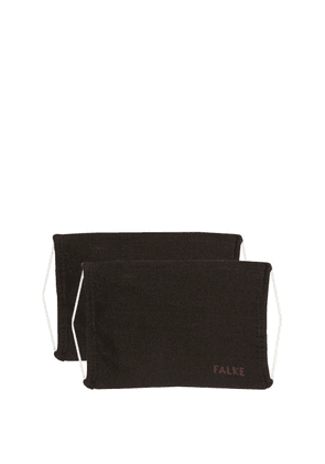 Falke - Set Of Two Face Coverings - Mens - Black