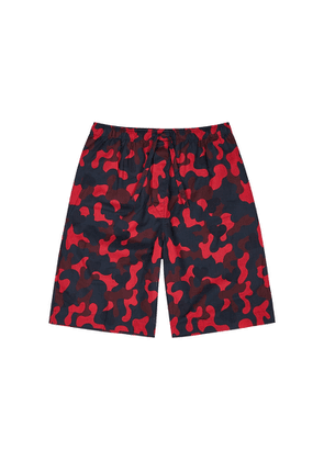 Derek Rose Ledbury 36 Camouflage-print Cotton Shorts