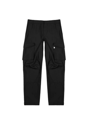 Givenchy Black Wool Cargo Trousers