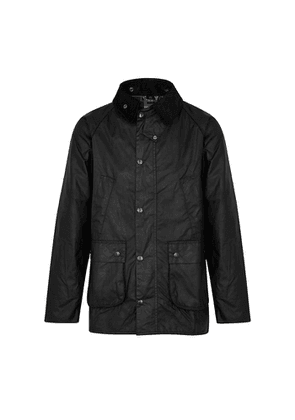 Barbour Bedale Black Waxed Cotton Jacket