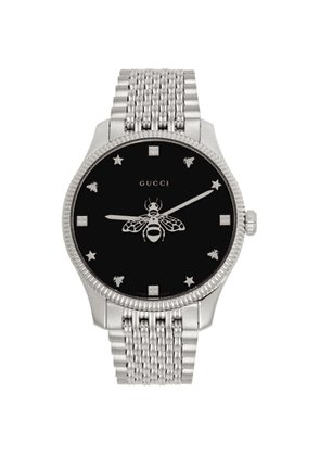 Gucci Silver Slim G-Timeless Bee Watch