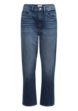 Le Piper Mid Rise Straight Denim Jeans