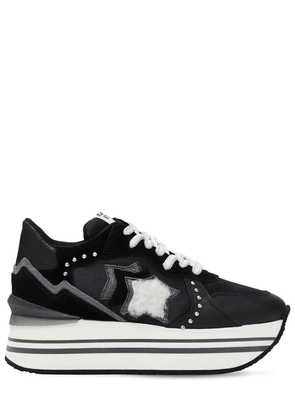 Andromeda Double Suede & Nylon Sneakers
