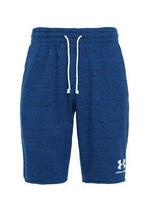 Sport Style Cotton Terry Sweat Shorts