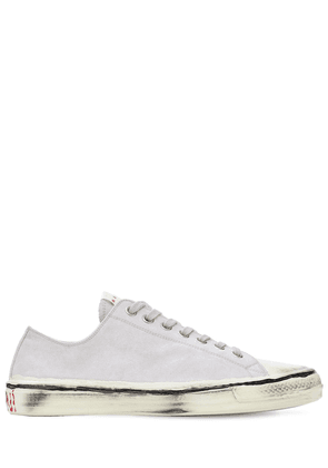 Olona Cotton Canvas Low-top Sneakers