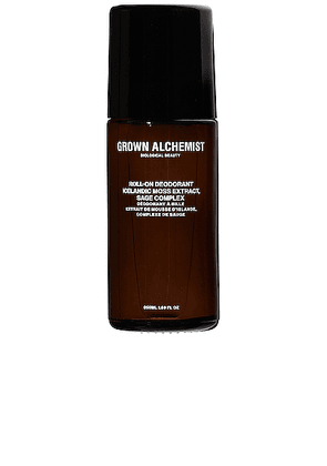 Grown Alchemist Roll-On Deodorant in Icelandic Moss Extract & Sage Complex - Neutral. Size all.