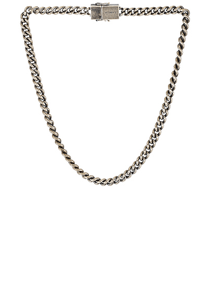 VETEMENTS Usb-C Necklace in Silver - Metallic Silver. Size all.