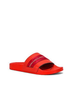 OFF-WHITE Industrial Slider in Red - Red. Size 40 (also in 41,42,43,44).