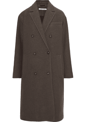 Elizabeth And James Timothy Double-breasted Wool Coat Woman Mushroom Size XS