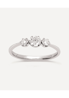 Elyhara Small Diamond Trilogy Ring