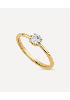 Gold Ellie Diamond Solitaire Ring