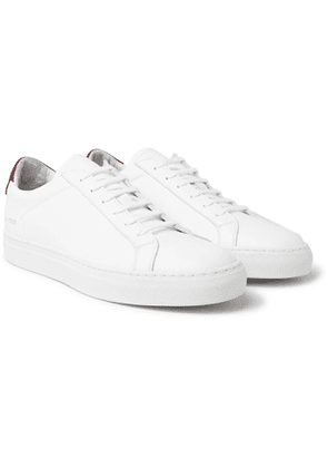 Common Projects - Retro Low Leather Sneakers - Men - White