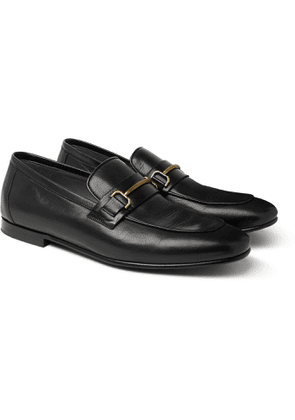 Dunhill - Chiltern Leather Loafers - Men - Black