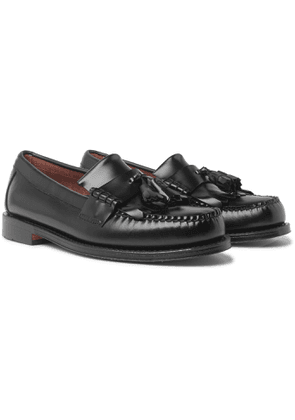 G.H. Bass & Co. - Weejun Heritage Larson Moc Leather Tasselled Loafers - Men - Black