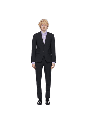 Dsquared2 Navy Tropical Wool London Fit Suit