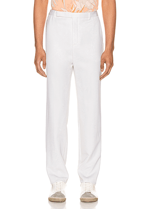 Saint Laurent Fit Trousers in Chalk - White. Size 52 (also in 48).